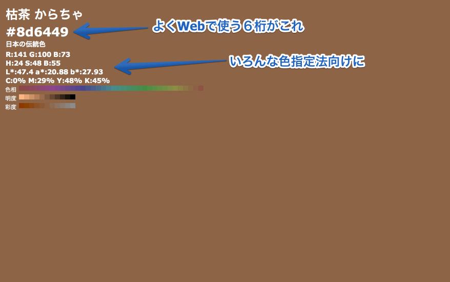 枯茶 からちゃ #8d6449 2013-06-05 12-22-27