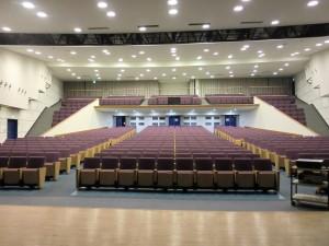 「ドリプラ ナガサキ 2013」会場の長崎大学中部講堂