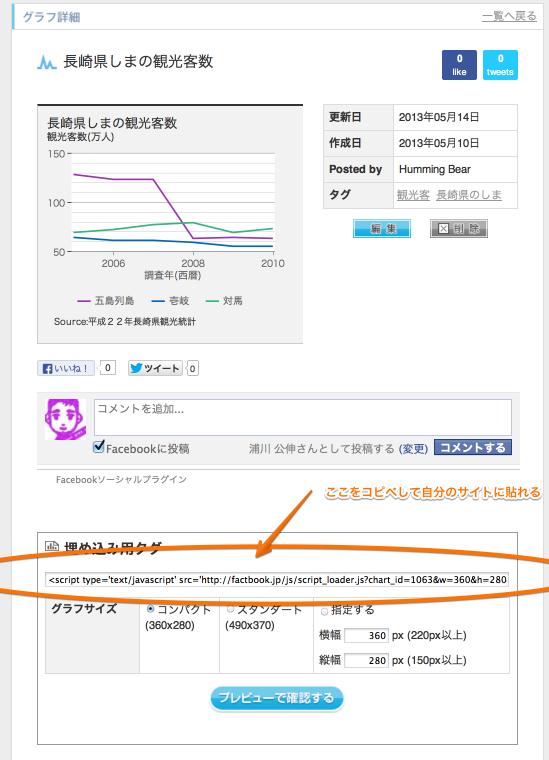 長崎県しまの観光客数  FACTBOOK 2013-05-14 14-43-24
