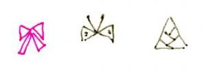 ボールペンイラスト_サンカクの練習 (555x214)